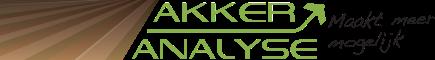 AkkerAnalyse
